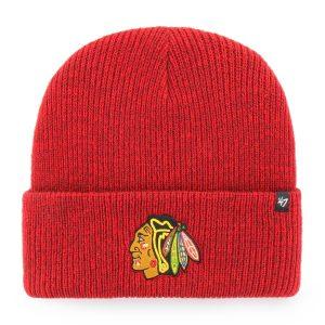obrázok produktu ČIAPKA NHL CHICAGO BLACKHAWKS '47 BRAIN FREEZE CUFF KNIT