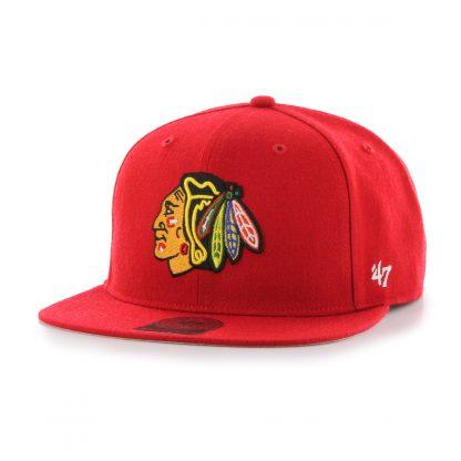 obrázok produktu šiltovka nhl chicago blackhawks no shot RED