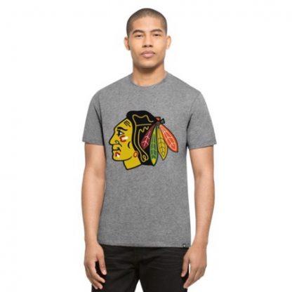 obrázok produktu tričko nhl chicago blackhawks grey