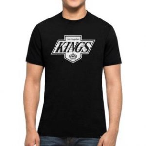 obrázok produktu tričko nhl la kings black white